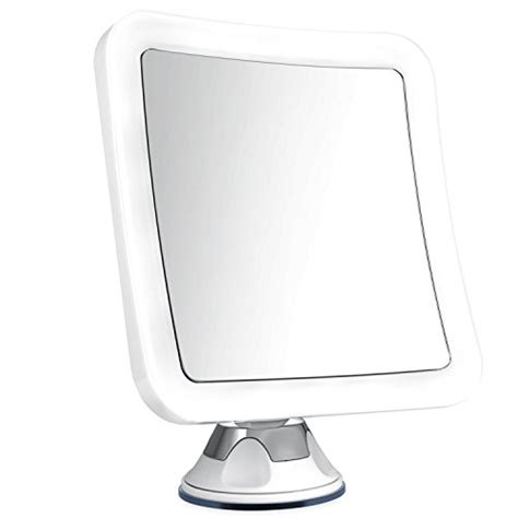 battery operated bathroom mirror lights charmax 8x magnifying lighted makeup mirror with bag