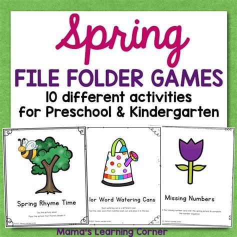 printable file folder games for kindergarten file folder games kindergarten video search engine at