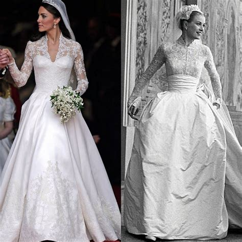5 Real Weddings To Be Inspired By by Was Kate Middleton S Dress Inspired By Grace