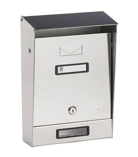cassetta postale silmec cassetta postale tradizionale per esterno singola silmec
