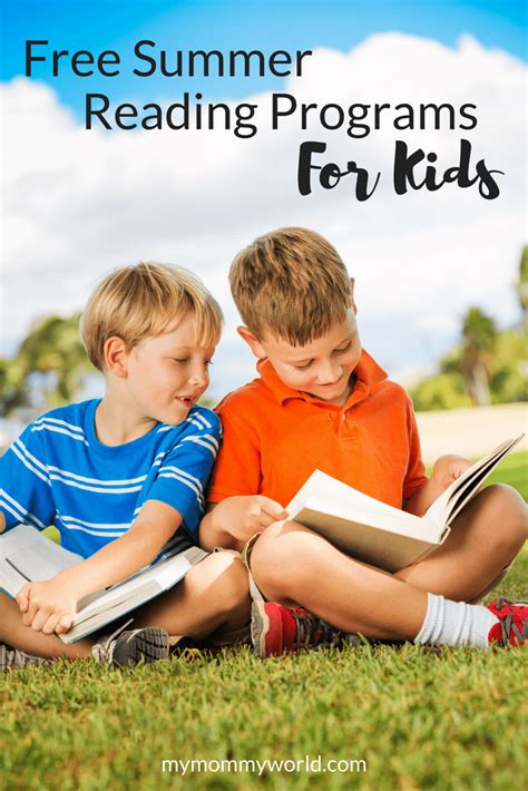 get your kids reading this summer with free summer reading programs my mommy world