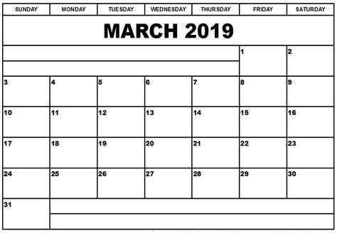 march 2019 calendar word blank fillable calendar march 2019 march 2019 calendar