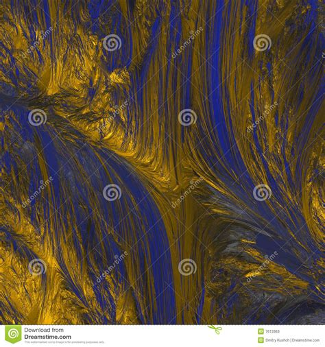 abstract blue gold texture stock illustration