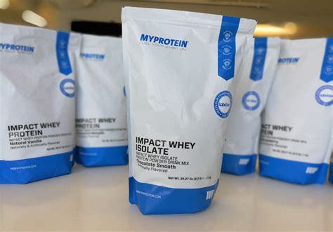 Myprotein Impact Whey My Protein Isolate 2 Lbs Ori Uk Ecer Shaker myprotein review which protein powder tastes the best slickdeals net