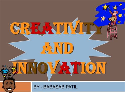 Mba In Innovation Vs Strategy by Crevativty Innovation Ppt Mba