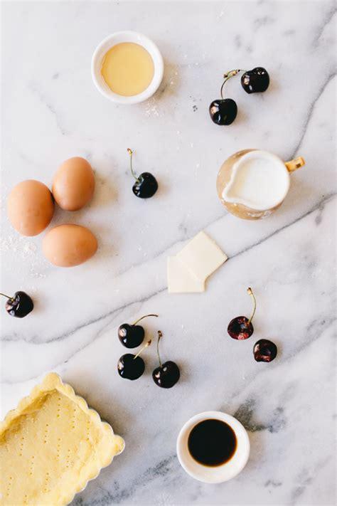 Buttermilk Egg Tart recipe cherry buttermilk tart coco kelley coco