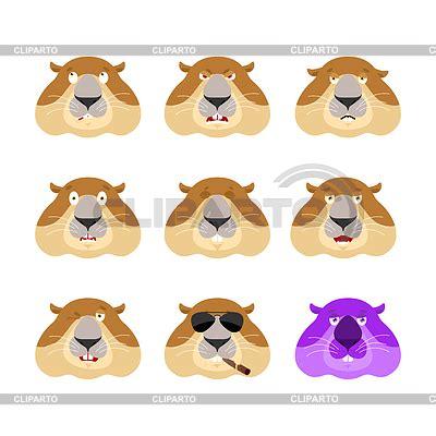 groundhog day emoji groundhog stock photos and vektor eps clipart cliparto