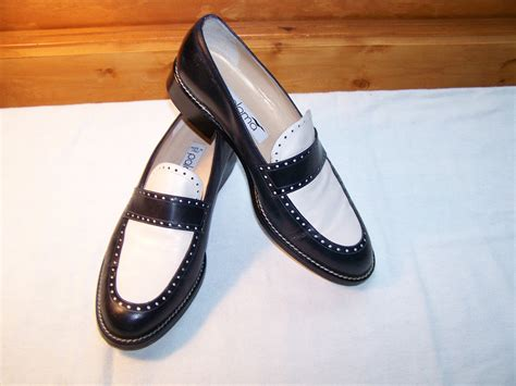 blue and white loafers vintage navy blue white loafers womens shoes brand