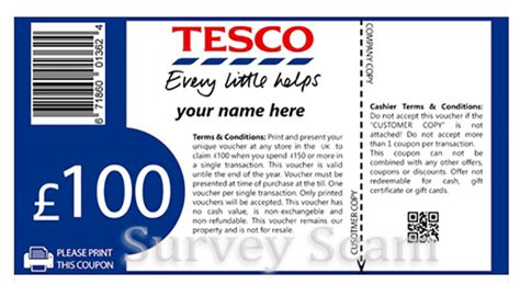 Tesco Voucher Giveaway - yet another tesco free voucher survey scam hitting facebook hoax slayer