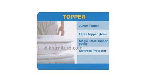 Magic Topper 8cm 100x200cm Comforta Bed magic topper 8cm comforta springbed harga diskon