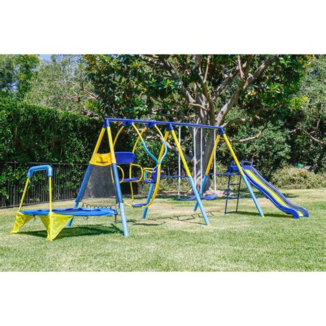 Metal Swing Sets - sportspower ridgewood me and my toddler metal swing set