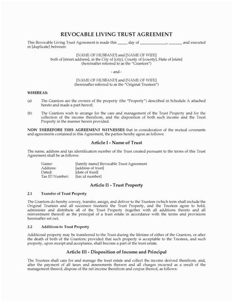 Beautiful Qualified Income Trust Agreement Form Florida Models Form Ideas Qualified Income Trust Template