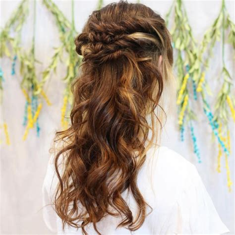 Boho Hairstyles For Medium Hair by Bohemian Hairstyles For Medium Length Hair Medium Curly