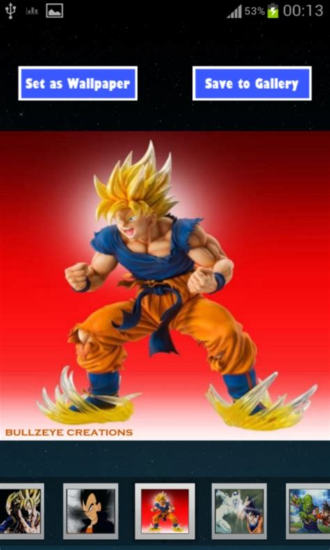 dragon ball z hd wallpaper apk free best dragon ball z hd wallpapers apk download for