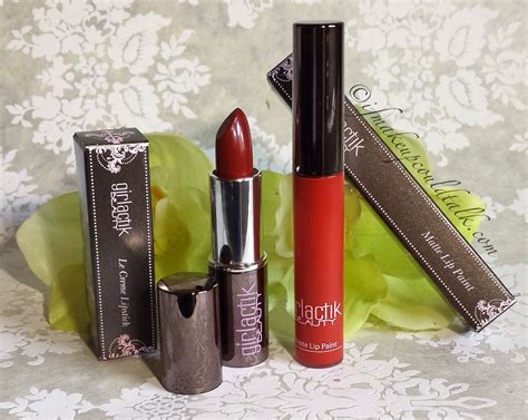 Lipstik Girlactik girlactik le creme lipstick and iconic matte