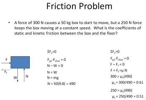 coefficient of friction image gallery kinetic friction formula