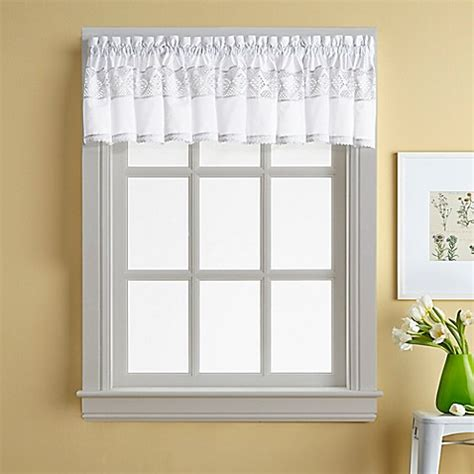 buy valance curtains buy kendra window curtain valance from bed bath beyond