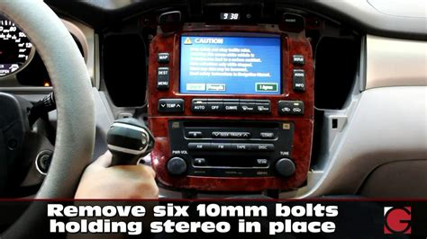 how petrol cars work 2001 toyota highlander navigation system grom usb android iphone bluetooth install into highlander 2001 2007 stereo removal youtube