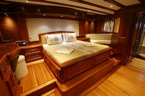 electra superyacht master cabins bathroom yacht luxury yacht charter gulet kaya guneri v master cabin