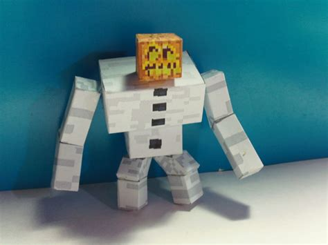 Minecraft Papercraft Snow - pics for gt minecraft snow golem wallpaper