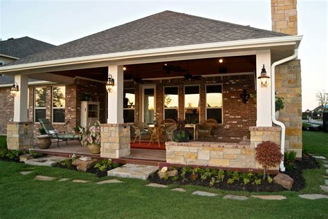 custom patios patio cover with fireplace in telfair custom patios