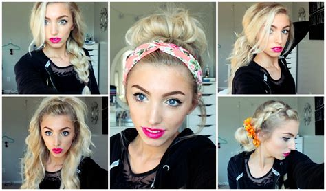 whats in for spring and summer 2015 hairstyles 5 spring summer hairstyles youtube