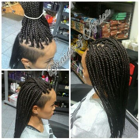 extension in back and side hair best 25 braids with shaved sides ideas on pinterest