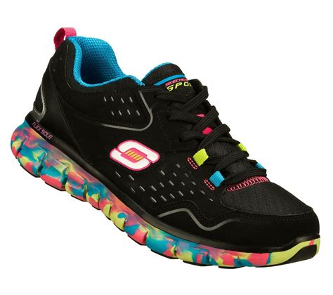 sketcher athletic shoes sketchers sneakers s color black multi color