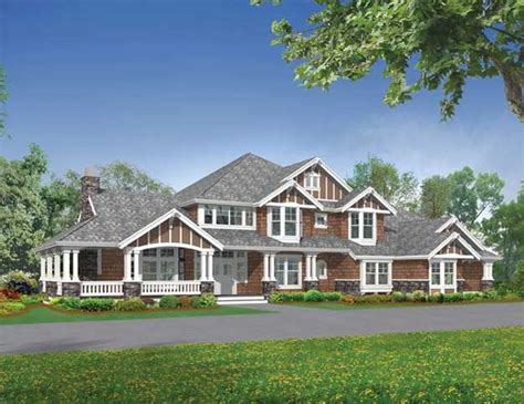 Craftsman House Plans With Wrap Around Porch The World S Catalog Of Ideas