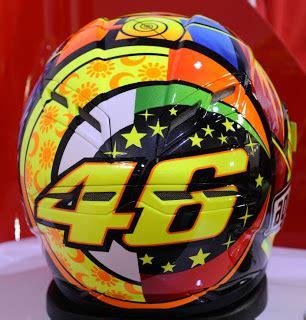 desain helm vr46 angkaraku cerita dibalik helm valentino rossi