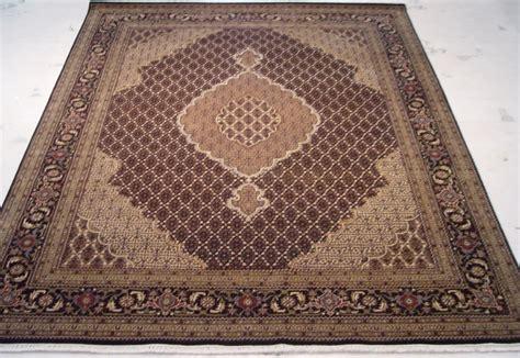 woven wool rug 8x10 woven rug traditional design wool silk tabriz dyes area rug ebay
