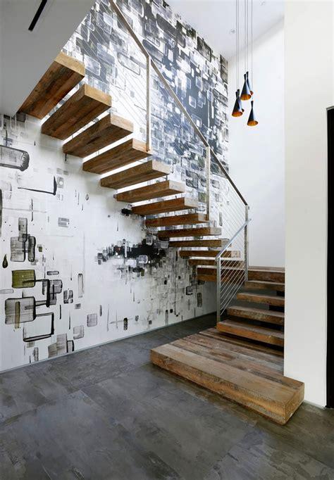 treppenhaus renovieren 63 ideen zum neuen streichen - Treppenhaus Wandgestaltung