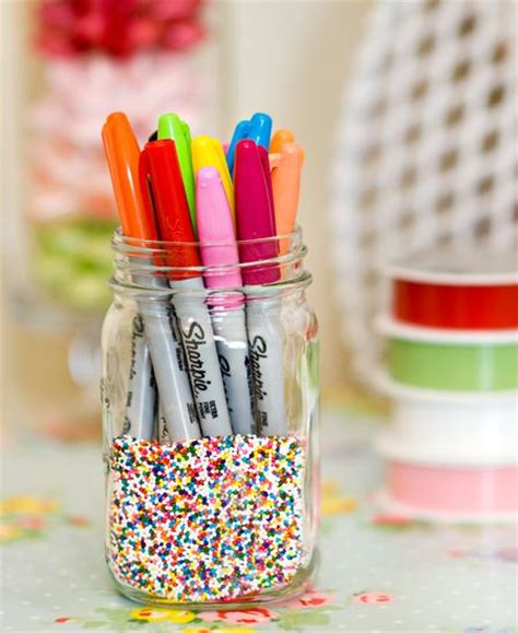 Sprinkle Jars 14 Sharpie Crafts And Diy Project Style Motivation