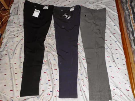 Celana Formal Pria Kerja Reguler Standar Slim Fit Panjang Hitam celana bahan kantor formal model slim fit reguler pria
