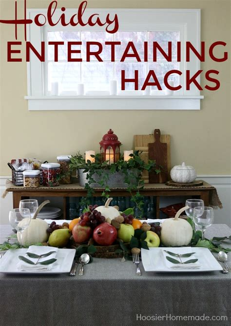 entertaining hacks holiday entertaining hacks hoosier homemade