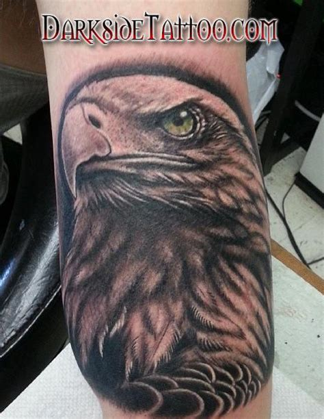 black eagle tattoo hours black and gray bald eagle tattoo tattoos and piercings