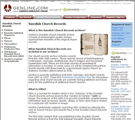 Swedish Birth Records Some Things Swedish Florida Sm 229 Land And Other Sweden