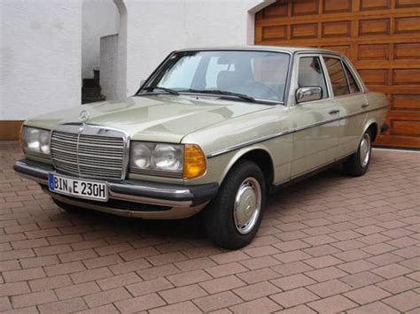 mercedes 230e w123 for sale 1984 mercedes benz 230 e w123 for sale car and classic