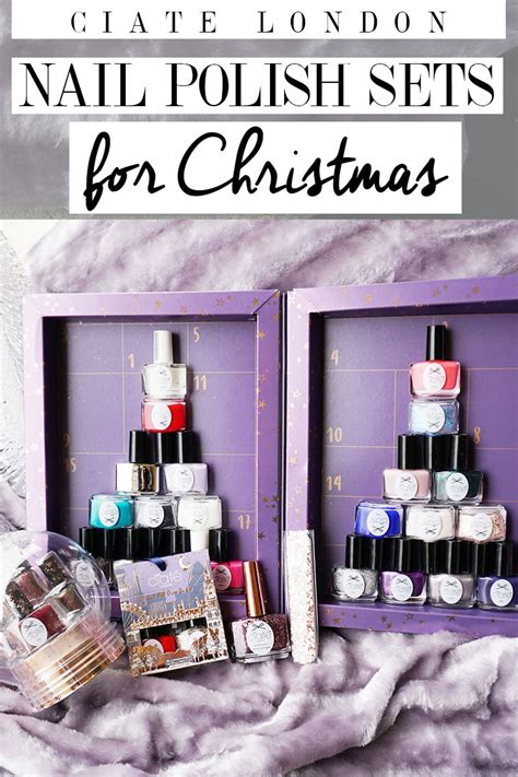 ciate london holiday nail polish gift sets citizens of