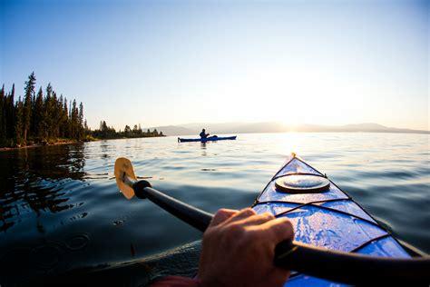 jackson hole kayaking  grand teton national park oars