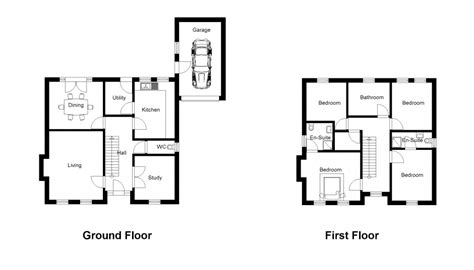 uk home layout design plan 2d drawing gallery floor plans house plans