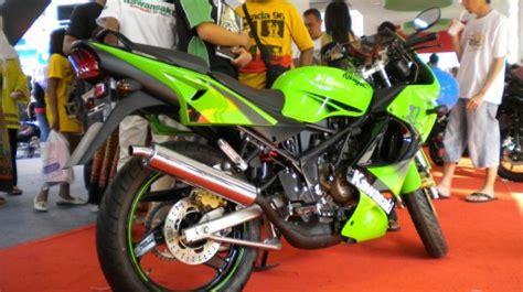 Helm Kawasaki 150rr stan kawasaki prj 2010 mulai dari facelift hingga