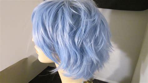periwinkle hair style image periwinkle hair cuts short sale short wig periwinkle blue