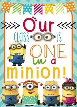 printable minion poster 17 best images about classroom minions theme on pinterest