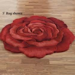 raelyn flower shaped rugs
