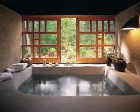 indoor rock tub beautiful homes design