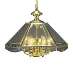 glass candle chandelier shop volume international 18 in 6 light polished brass