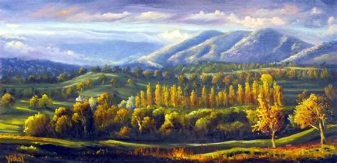landscape painting landscape painting for beginners in oils and acrylics sydney