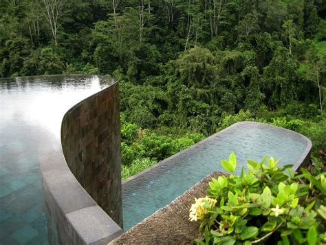 ubud hanging gardens hotel five of the most beautiful and luxurious pools in the world
