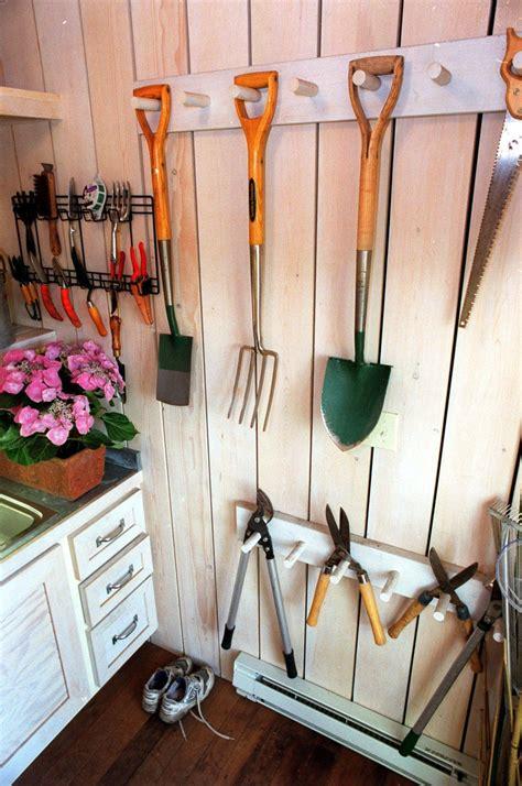 tips  diy garage organization diy storage shed